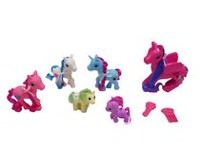 Flying Horse Family Set (Hot Pink)