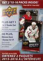 2017 Upper Deck Hockey Hanger Box - English Only