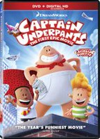 Captain Underpants: The First Epic Movie (DVD + Digital HD)