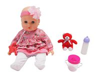 14 inch Baby Maggie (Pink Floral)