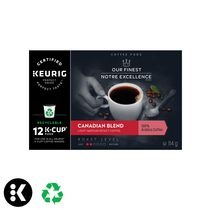 Keurig Our Finest Canadian Blend Light Roast K Cup Coffee