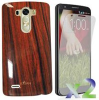 Exian Case for LG G3 - Wood Brown