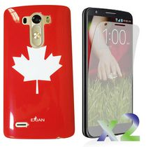 Exian Case for LG G3 - Maple Leaf Design