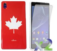 Exian Case for Xperia Z2 - Maple Leaf Design