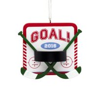 Hallmark 2016 Hockey Ornament (Walmart Exclusive)