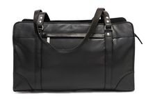 Ashlin Leather Ladies' Briefcase with Shoulder Straps