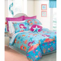 Safdie & Co. Home Deluxe Collection Multi Color 100% Polyester Comforter Set Double/Queen