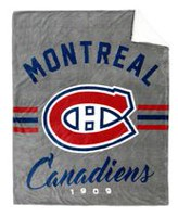 NHL Team Throw- Montreal Canadiens