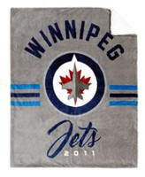 NHL Team Throw- Winnipeg Jets