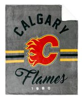 NHL Team Throw- Calgary Flames