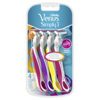 Gillette Venus Simply3 Disposable Razor Bonus Pack