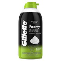 Gillette Foamy Lemon Lime Shaving Foam