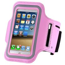 Exian Arm Band for iPhone 5/5S/SE in Pink