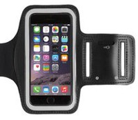 Exian Arm Band for iPhone 6/7 in Black