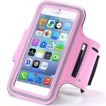Exian Arm Band for iPhone 6 Plus/7 Plus in Pink