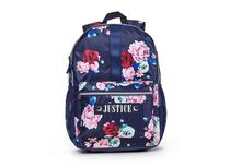 """Justice™ Brand Girls Floral Printed Nylon Multi Compartment Backpack 17"""" Backpack"""