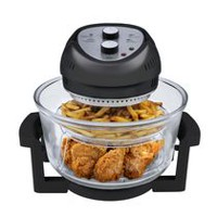 Big Boss 16QT Oil-Less Black Fryer