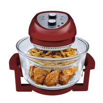 Big Boss Oil-Less Fryer Red