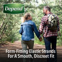 Depend Fit-Flex Men's Maximum Absorbency Underwear - image 6 of 8