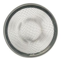 FIX IT! Mesh Lavatory Strainer - Stainless Steel Finish