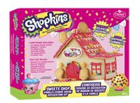 Create A Treat Shopkins Sweets Shop Vanilla Cookie House Decorating Kit