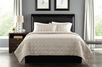 Springmaid Quilt Set Grey