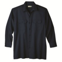P14010 Kodiak Button Work Shirt French Blue 3x