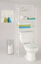 Exquisite 3 piece bathroom organizer set