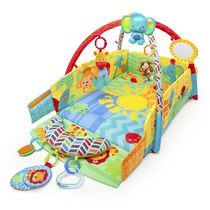 Activité de gymnastique Baby's Play PlaceMC Sunny SafariMC de Bright StartsMC