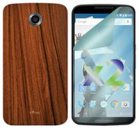 Exian Case For Motorola Nexus  6 - Wood Brown