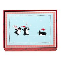 Hallmark 3 Penguins Sliding Boxed Cards (Walmart Exclusive)
