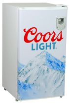 Coors Light 3.2 Cubic Foot (90L) Compact Fridge with Bottle Opener
