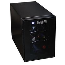 Koolatron WC06 6 Bottle Thermoelectric Wine Cooler with Digital Temperature Controls