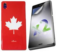 Exian Case for Xperia Z3 - Maple Leaf Design