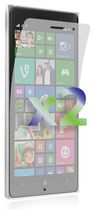 Exian Screen Protector for Lumia 830, Clear - 2 Pieces