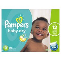 Pampers Baby Dry Diapers Economy Pack Plus Size 5