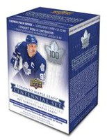 2017 Upper Deck Toronto Maple Leafs Centennial Value Box - English Only