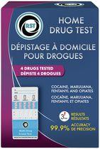 Home Drug Test Kits Home Drug Test Kit - 4 Drugs