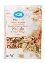 Great Value Halves & Pieces Walnuts