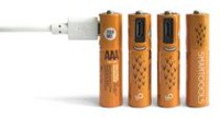 Smartools AAA 4-Pack Micro USB Rechargeable Batteries