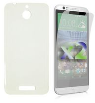 Exian Transparent Case for Desire 510 - Clear
