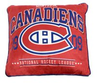 NHL Authentic Team Cushion- Montreal Canadiens