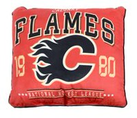 NHL Authentic Team Cushion- Calgary Flames