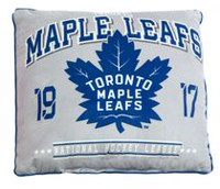 NHL Authentic Team Cushion- Toronto Maple Leafs