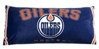 NHL Body Pillow- Edmonton Oilers