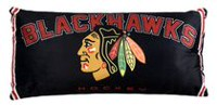 Oreiller de corps LNH - Chicago Blackhawks