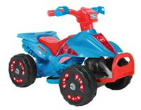 Kalee 6volt Mini Quad Blue All-Terrain Vehicle