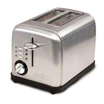 Salton 2 Slice Stainless Steel Toaster ET1403