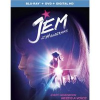 Jem And The Holograms (Blu-ray + DVD + Digital HD)