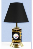 Lampe de table des Steelers LNF Pittsburgh de Logo Chair